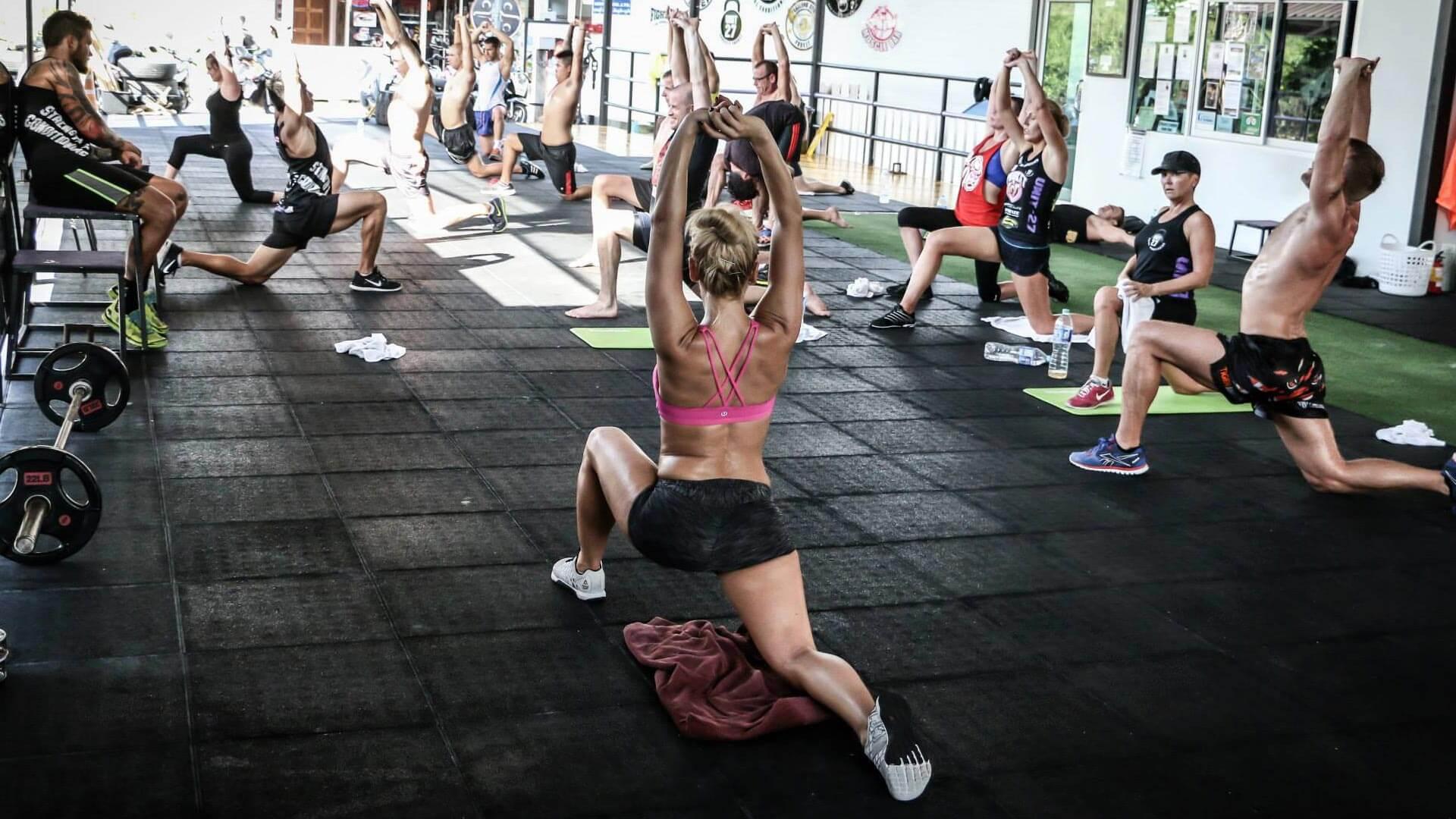 Unit 27 - Flexibility & Core Training, Phuket, Thailand