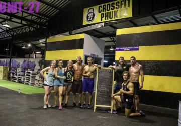CrossFit Phuket Class at Unit 27