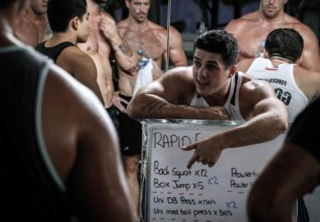 Rapid Fire session outline with Dayle at Unit 27 gym Phuket Thailand
