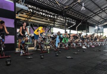 Tour De Unit class at Unit 27 Phuket, Thailand