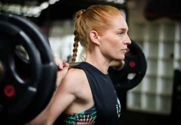 Danae Barwick at Unit 27 gym, Phuket, Thailand