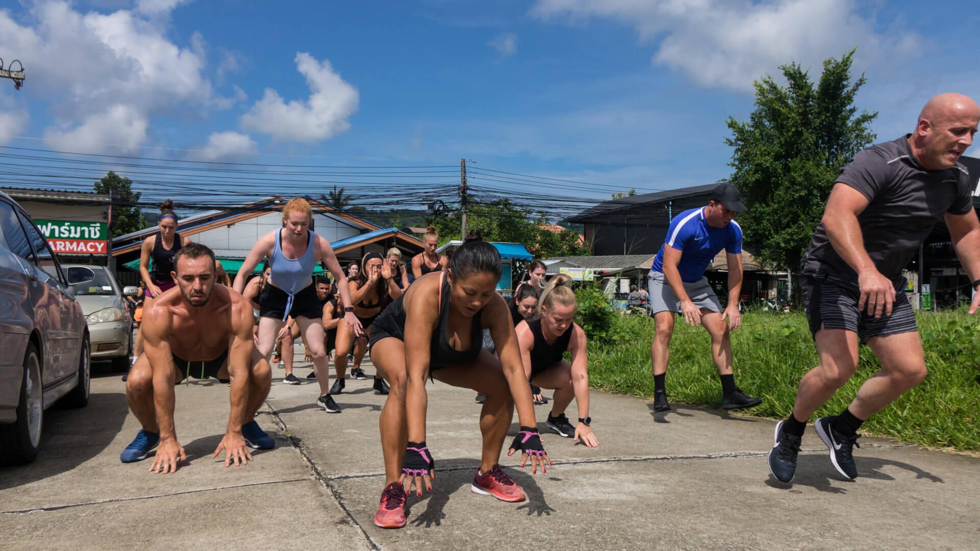 Strength & Conditioning Training, Phuket, Thailand